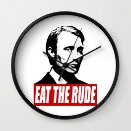Hannibal - Eat The Rude Wall Clock