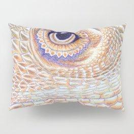 Dragon Star, Bearded Dragon Lizard Art Pillow Sham