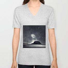 Island in the sea of eternity Unisex V-Neck