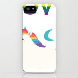 Love Wins LGBT Stars Cute Pony iPhone Case