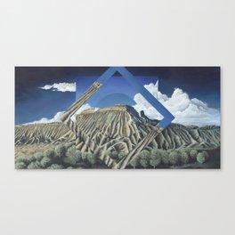 Mount Garfield Polyscape Canvas Print
