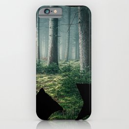 Bear Forest iPhone Case