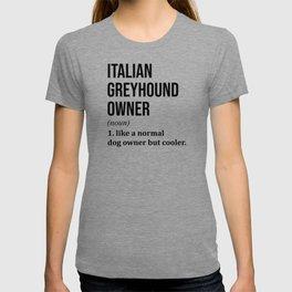 Italian Greyhound Dog Funny T-shirt