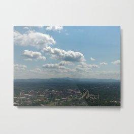Ashville Magritte Skies Metal Print