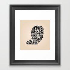 Self Portrait PM Framed Art Print