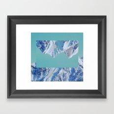 Falling. Framed Art Print