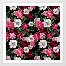 Exclusive Floral Pattern Art Print