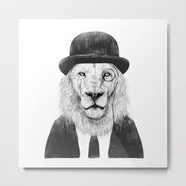 Sir lion Metal Print