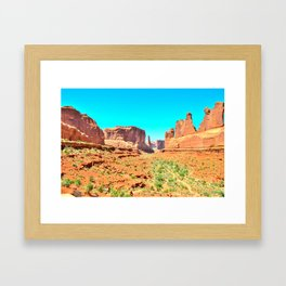 It's 100 degrees too hot and I'm dying Framed Art Print