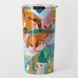 Travel To Australia Travel Mug