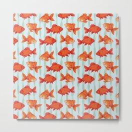 goldenfish Metal Print