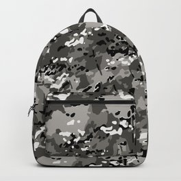 Wolf Gray Popular Multi Camo Pattern Backpack
