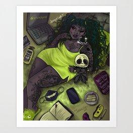Quarantine Bae 5  Art Print
