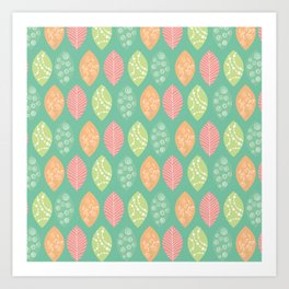 leafes Art Print