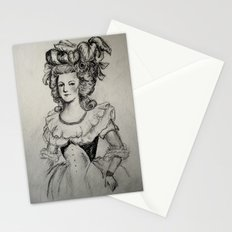 French Sketch II Stationery Cards