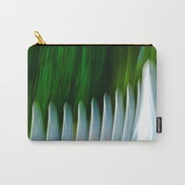 Abstract Some White Picket Fences Bite Carry-All Pouch