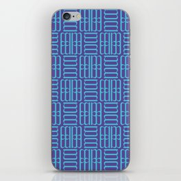 Decorative Abstract / The M Pattern 1 iPhone Skin