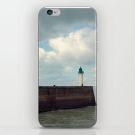 Lighthouse at St. Valery-en-Caux iPhone Skin
