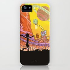 Rick and Morty - Silhouette iPhone (5, 5s) Slim Case