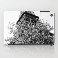 eiffel tower iPad Cases featuring Eiffel Tower by Msimioni