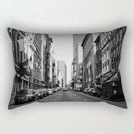 Mornings in Old Montreal Rectangular Pillow