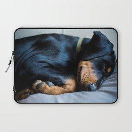 Days of Dog sitting Laptop Sleeve