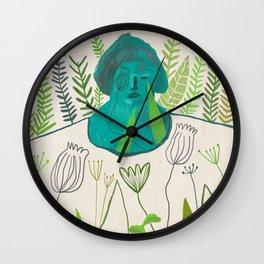 Woman [4] Wall Clock