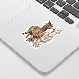 Alpacas Sticker