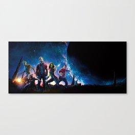 3D Guardians Canvas Print