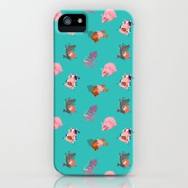 Animals Revenge iPhone Case