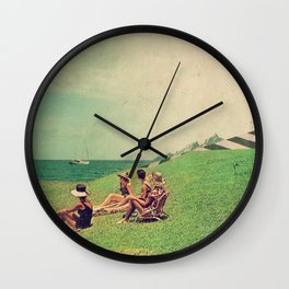 The Sun Forgot Us Wall Clock