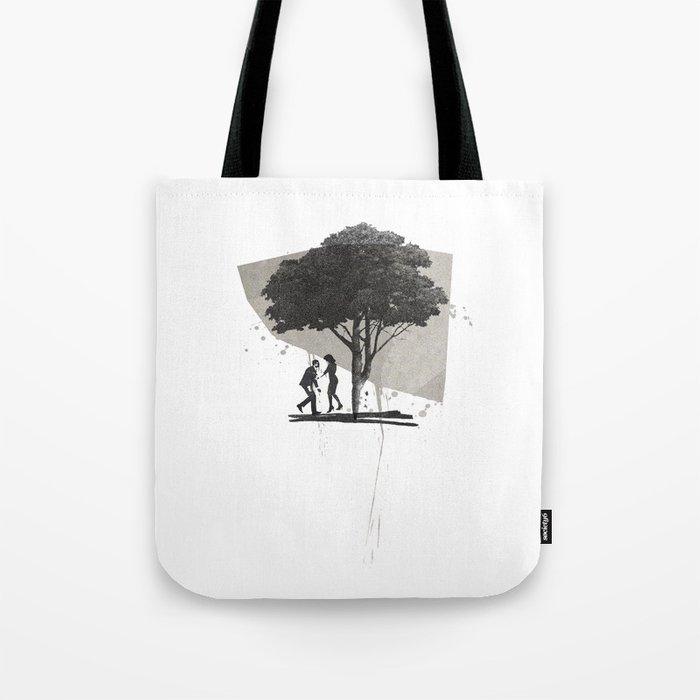 (Down By The) Family Tree | Collage Tote Bag
