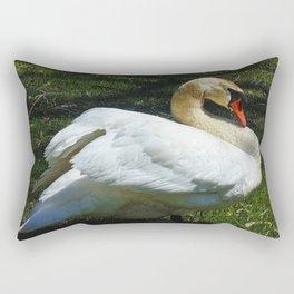 Awakening Powers of the  Swan Rectangular Pillow