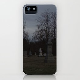Little Cemetery on the Hill 1 iPhone Case