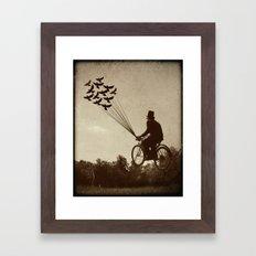 Steampunk Explorer Framed Art Print