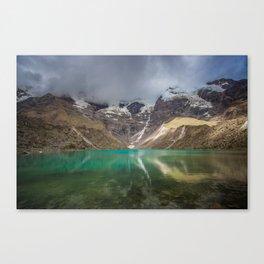 Humantay Glacial Lake Canvas Print