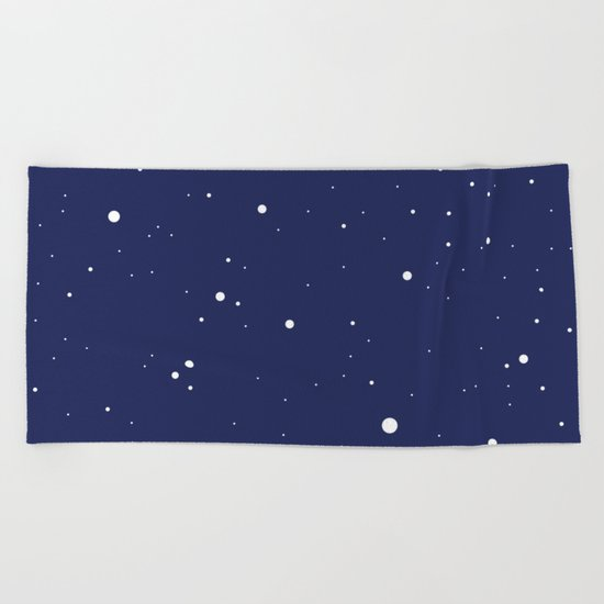 Night sky Beach Towel