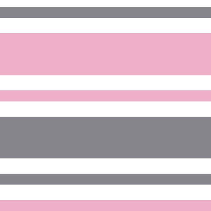 Pastel Pink & Gray & White Stripe Pattern Leggings