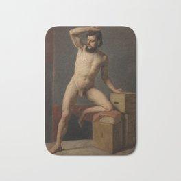 Gustav Klimt - Male Nude Bath Mat