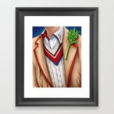 The Fifth Doctor Framed Art Print
