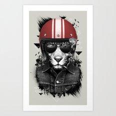 Jungle Rider Art Print