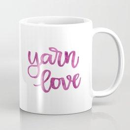 Yarn Love - Fuchsia Coffee Mug