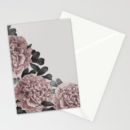 Dreaming in a flower garden Stationery Cards
