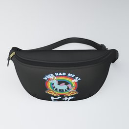 Weeb Had Me At Pizza Fanny Pack