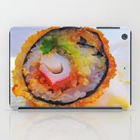 sushi iPad Cases featuring Sushi by Gio Garcia