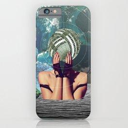 atmosphere 45 · in a gadda da vida iPhone Case