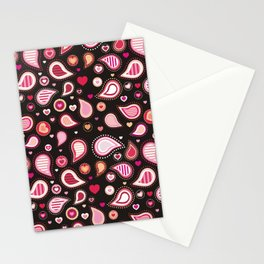 Pasley Burgundy Stationery Cards