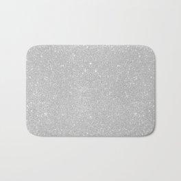 Pastel Grey Glitter Bath Mat