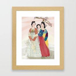 The 3 Graces Framed Art Print