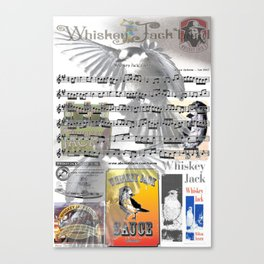 Wiskey Jack Canvas Print